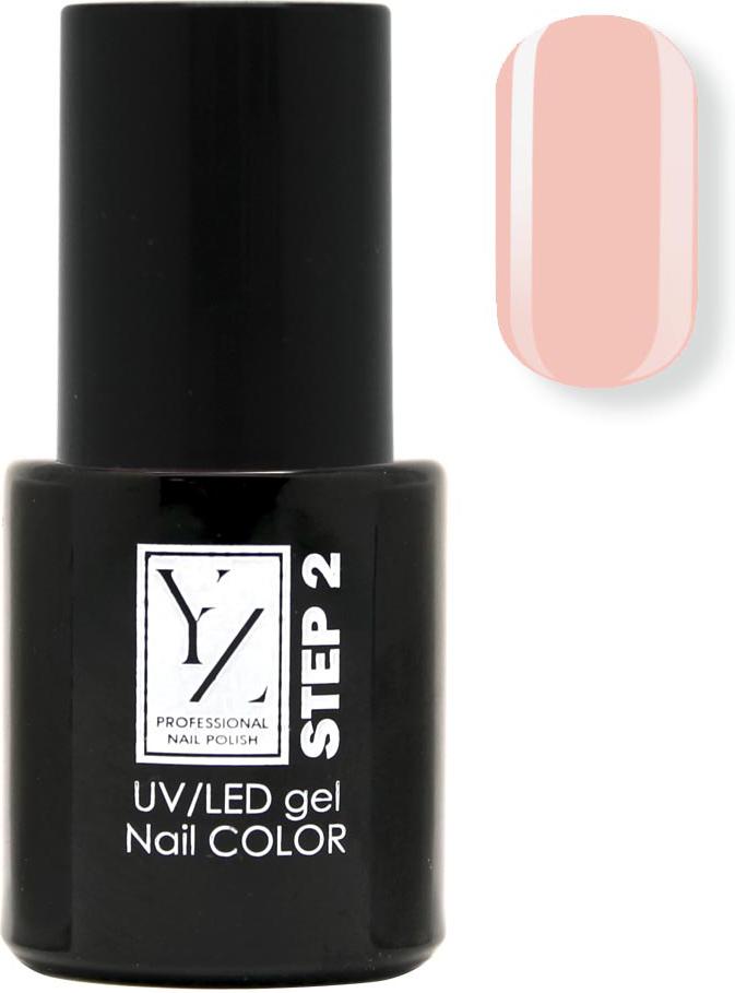 YZ UV/LED гель-лак Насыщенный цвет, тон розовый зефир, 10 мл