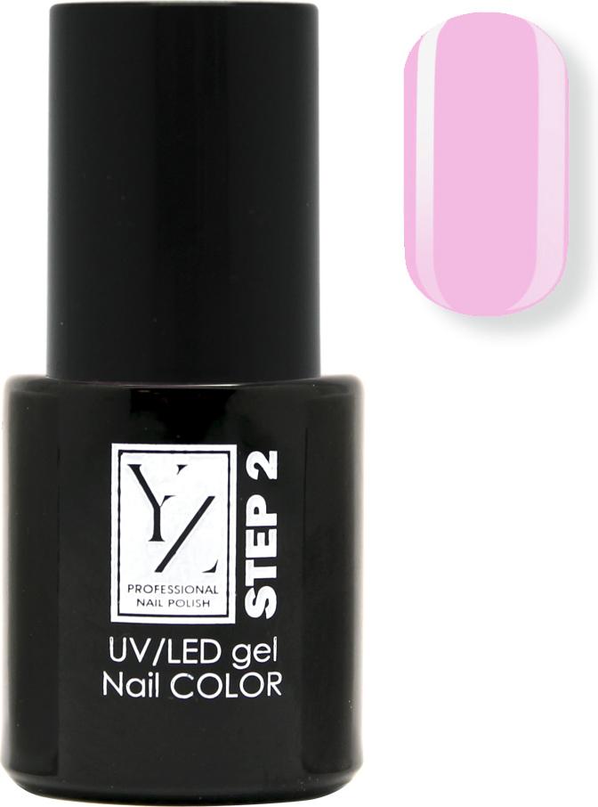 YZ UV/LED гель-лак Насыщенный цвет, тон розовая гвоздика, 10 мл