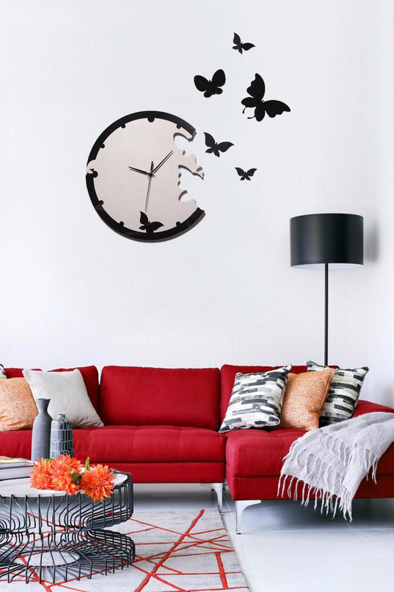 цена на Часы настенные Magellanno Романтичные бабочки