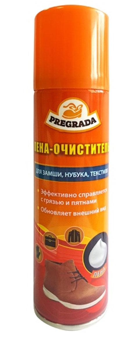 """Универсальная пена-очиститель для обуви """"Pregrada"""", 150 мл"""