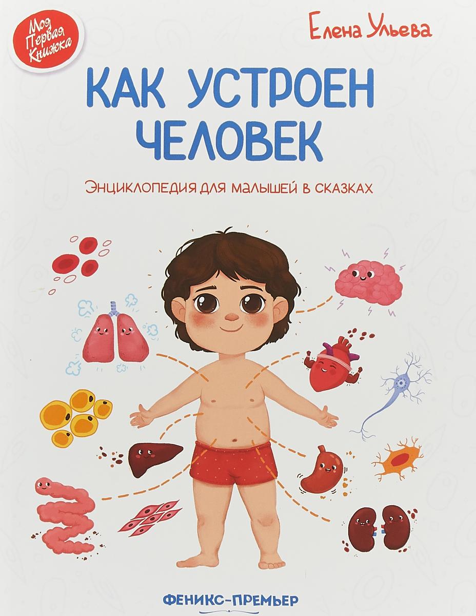 Елена Ульева Как устроен человек. Энциклопедия для малышей в сказках