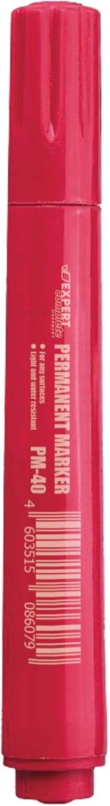 Expert Complete Маркер перманент EC PM-40 цвет красный evolis avansia duplex expert