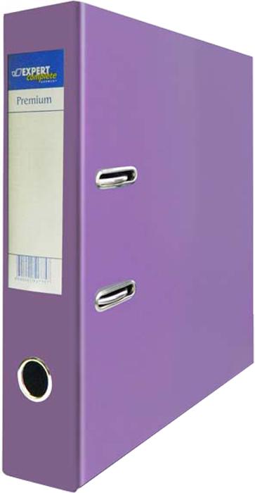 Expert Complete Папка-регистратор PVC 75 мм Premium цвет сиреневый expert complete папка регистратор pvc premium цвет сиреневый