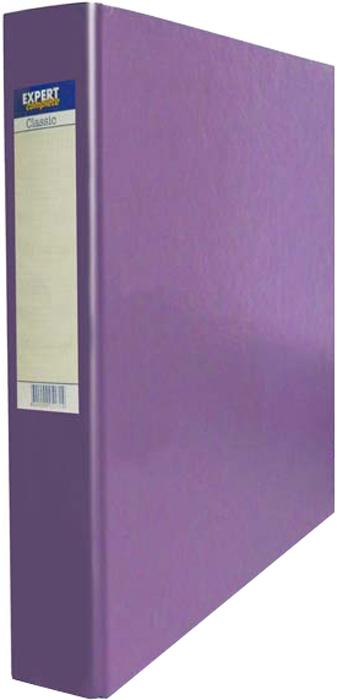 Expert Complete Папка-регистратор 2 кольца Classic цвет сиреневый expert complete папка регистратор pvc premium цвет сиреневый
