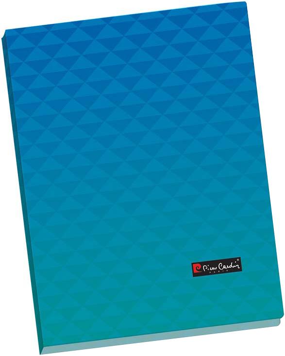 Pierre Cardin Папка-скоросшиватель Geometrie формат А4 цвет голубой