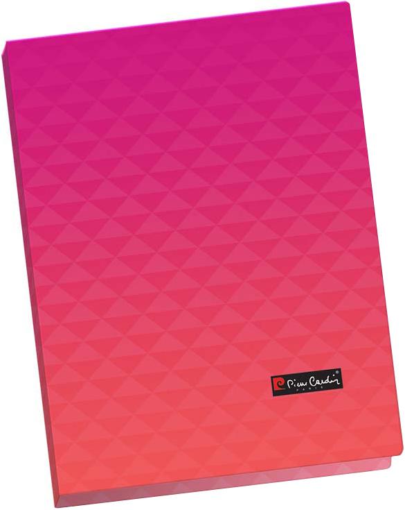 Pierre Cardin Папка-скоросшиватель Geometrie формат А4 цвет розовый
