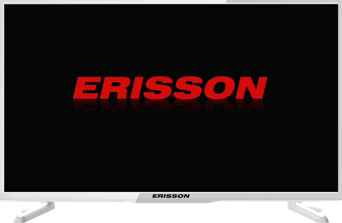 Erisson 32LEA21T2SMW телевизор телевизор led 40 erisson 43flea18t2sm d led android smart full hd 1920 1080 dvbt2