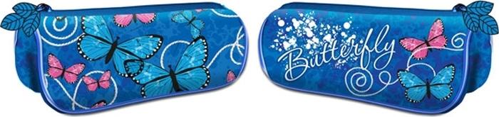 Limpopo Пенал-тубус Бабочки-цветочки платье с кружевной вставкой и длинными рукавами