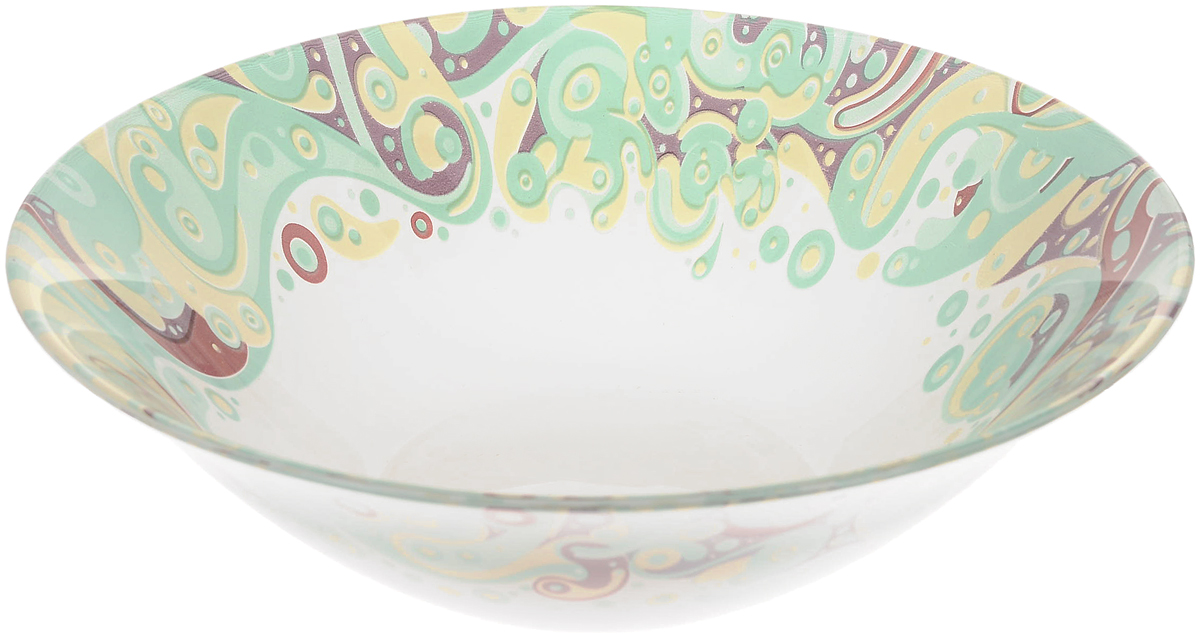 Салатник Pasabahce Beauty , цвет: прозрачный, диаметр 23 см салатник pasabahce sultana диаметр 23 см 10284b