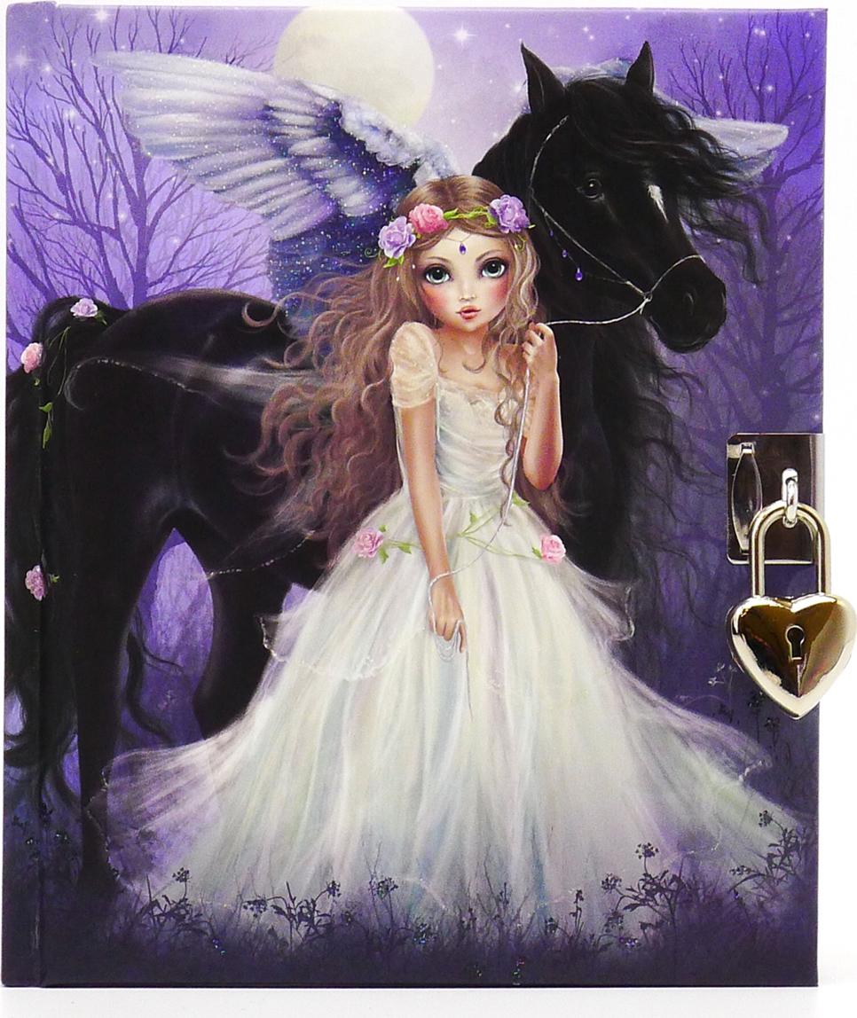 Depesche Дневник TOPModel Fantasy цвет фиолетовый