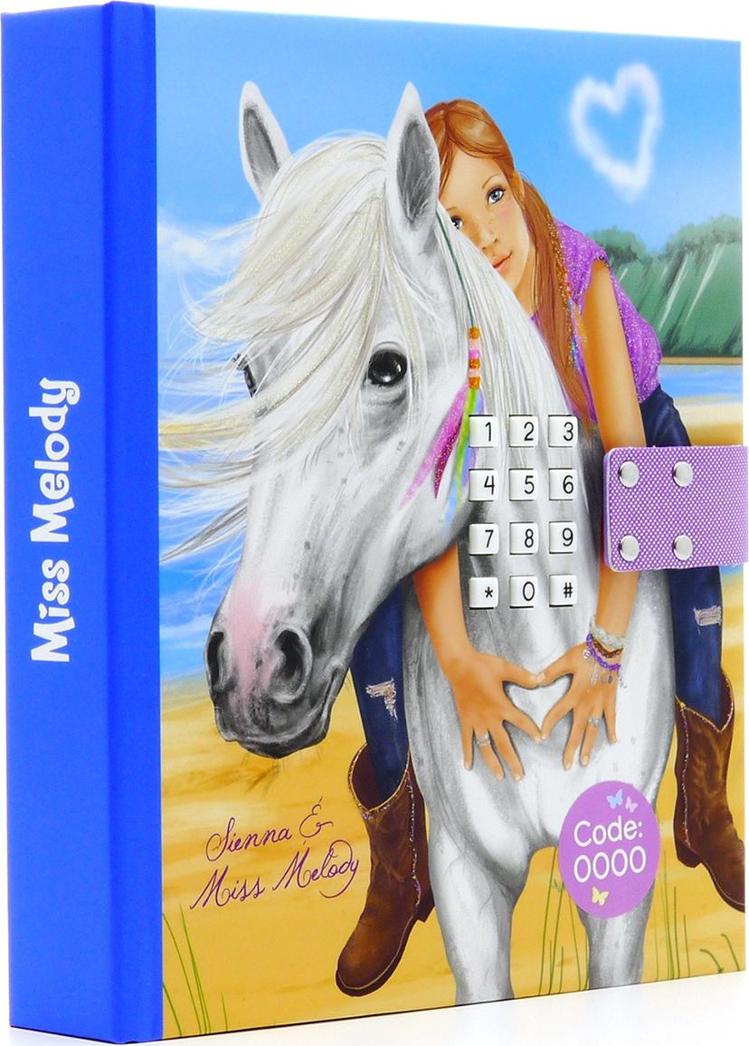 Depesche Дневник Miss Melody с кодом и музыкой цвет голубой