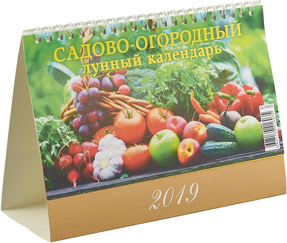 Садово-огородный лунный календарь (200*140). Календарь 2019 цены онлайн