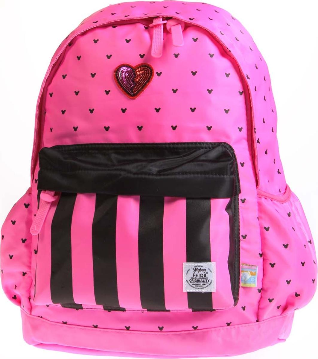 Vittorio Richi Рюкзак детский с наполнением цвет розовый черный K05R5501 рюкзак детский mojo pax mojo pax рюкзак boombox с колонками черный белый