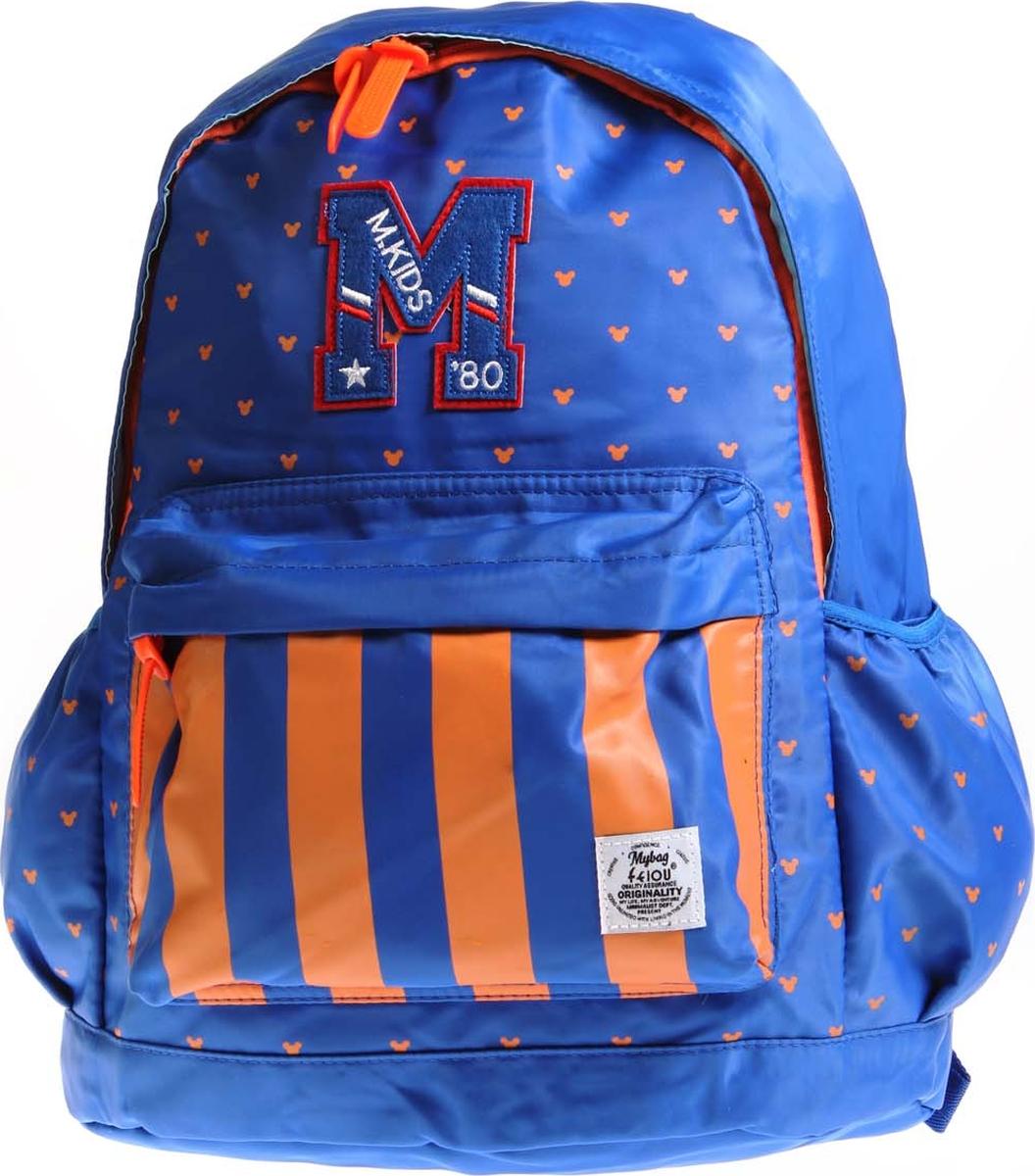 Vittorio Richi Рюкзак детский с наполнением цвет голубой оранжевый K05R5507 vittorio richi рюкзак детский с наполнением цвет голубой k05r5505