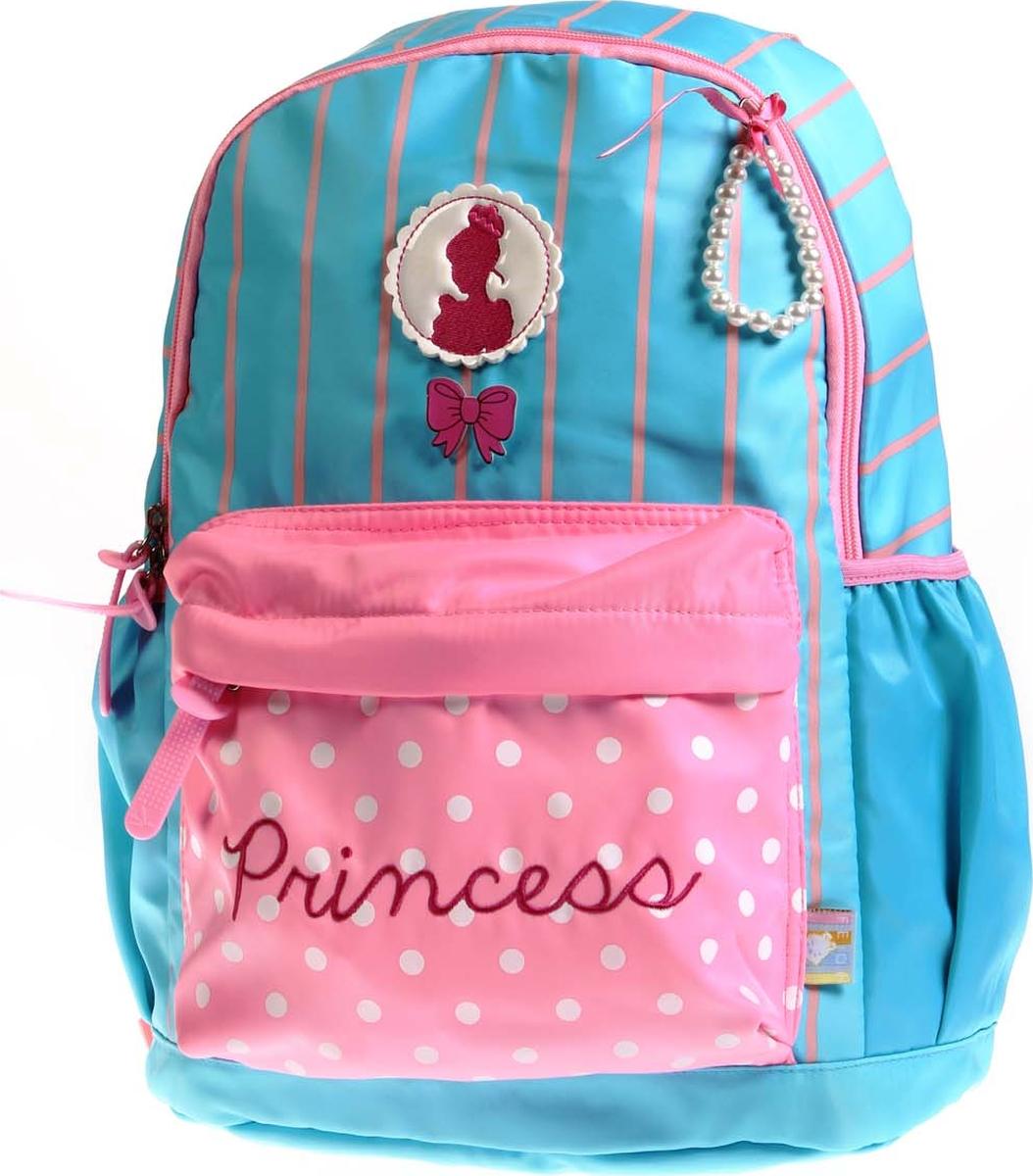 Vittorio Richi Рюкзак детский с наполнением цвет голубой розовый K05R5520 vittorio richi рюкзак детский с наполнением цвет голубой k05r5505