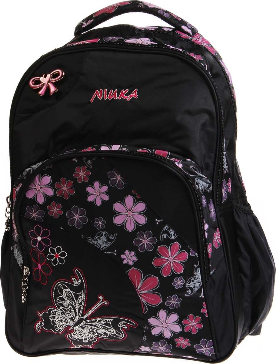 Vittorio Richi Рюкзак детский с наполнением цвет черный розовый K05RN111 рюкзак детский mojo pax mojo pax рюкзак boombox с колонками черный белый