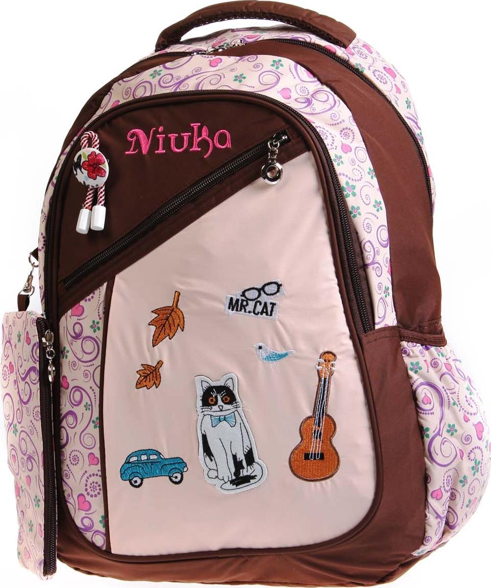 Vittorio Richi Рюкзак детский с наполнением цвет бежевый коричневый K05NK172_1 vittorio richi рюкзак детский с наполнением цвет голубой k05r5505