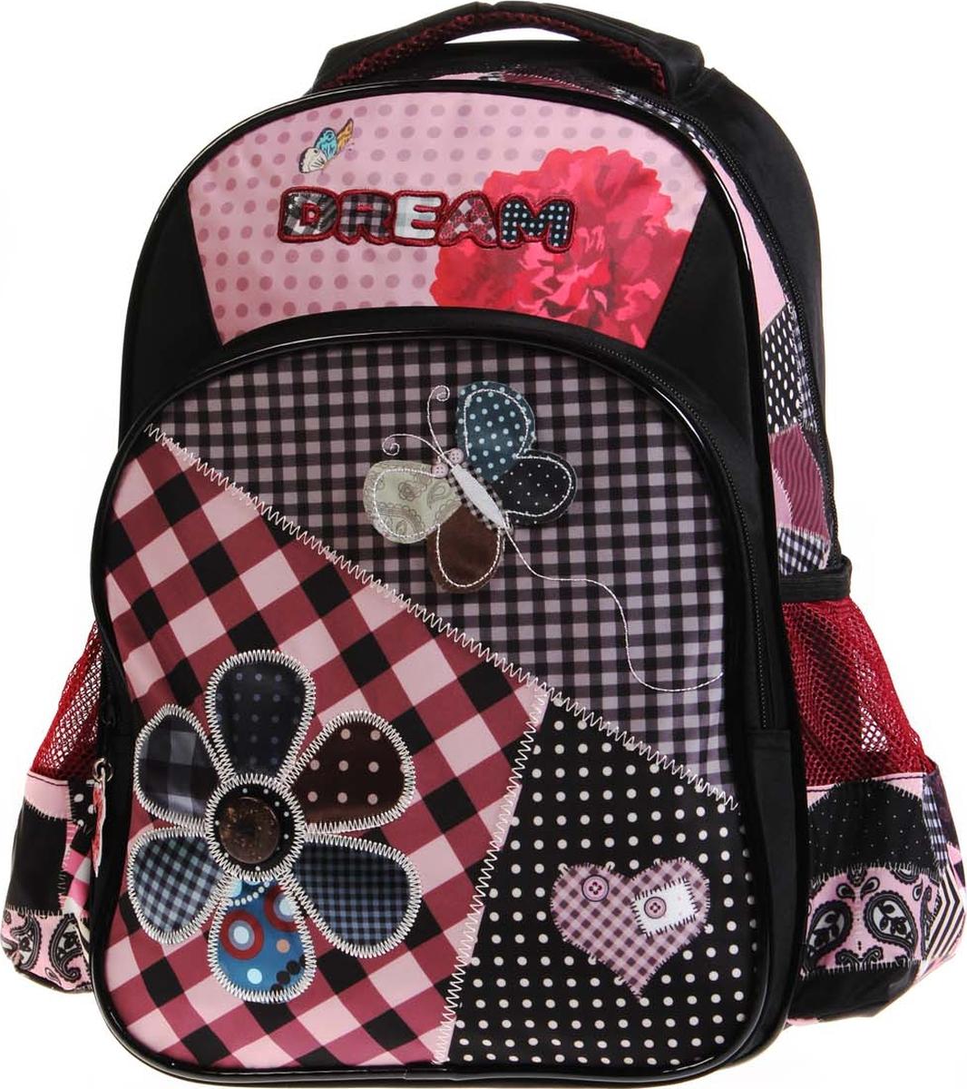 Vittorio Richi Рюкзак детский с наполнением цвет черный розовый K05RN93 рюкзак детский mojo pax mojo pax рюкзак boombox с колонками черный белый