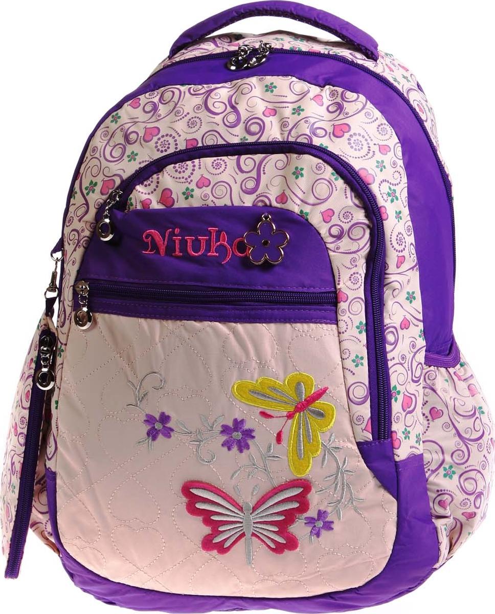 Vittorio Richi Рюкзак детский с наполнением цвет бежевый сиреневый K05RN188 tiger enterprise рюкзак детский fantasy цвет сиреневый