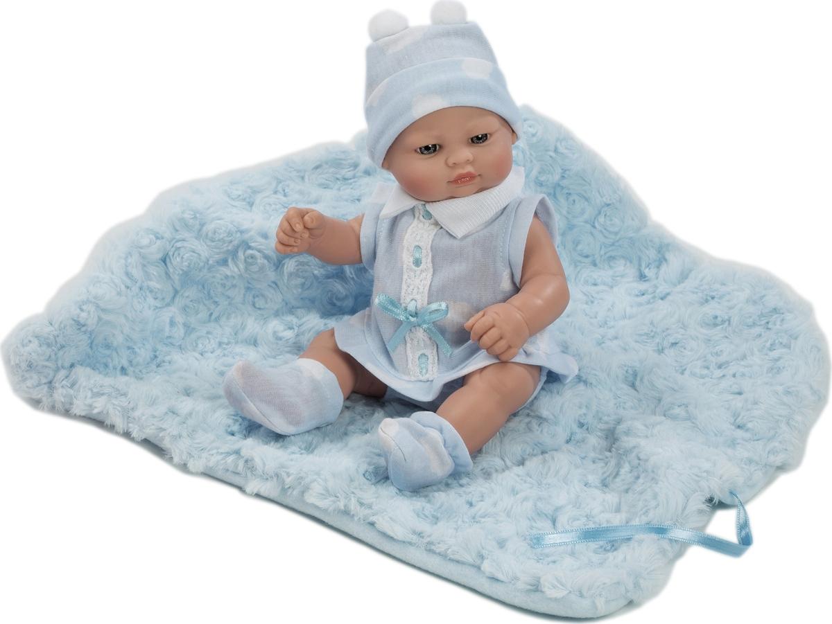 Zakazat.ru: Munecas Berbesa Кукла Пупс новорожденный с пледом 27 см 2504А
