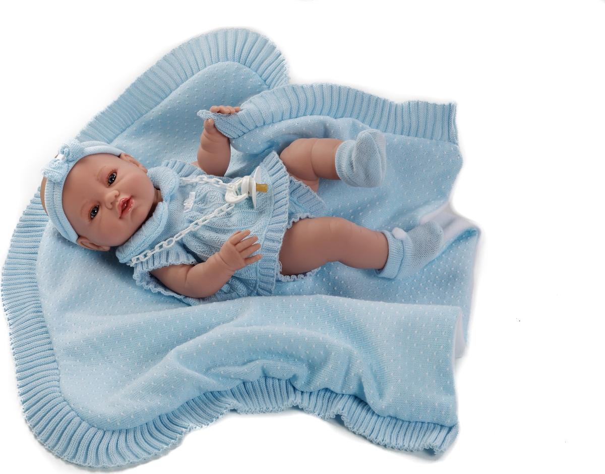 Munecas Berbesa Кукла Пупс новорожденный 42 см 5100A