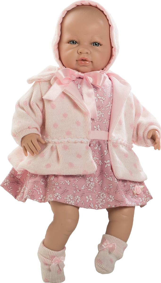 Munecas Berbesa Кукла Sara 50 см 5205 miacompany шерстяные носочки розовые