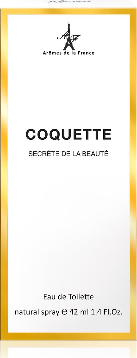 Ароматы Франции Туалетная вода Coquette, 42 мл Ароматы Франции