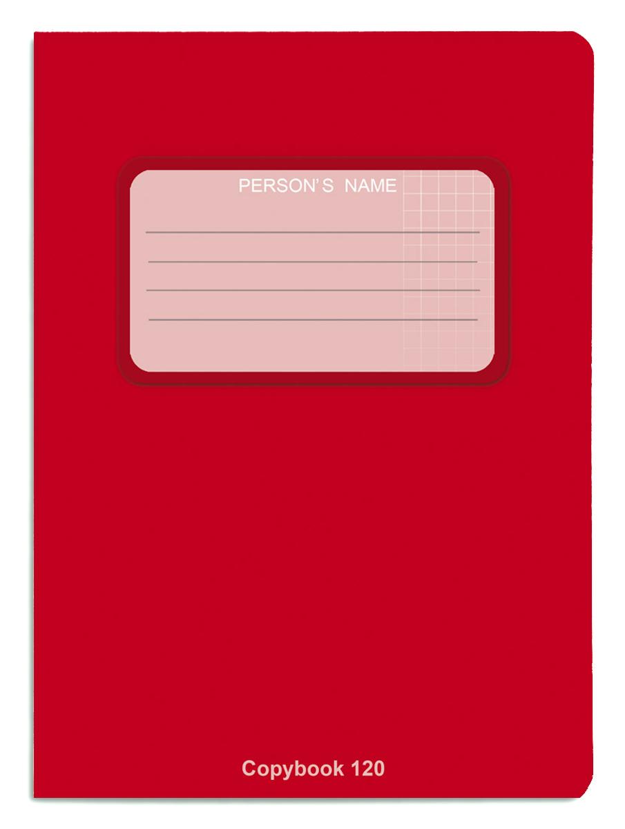 Проф-Пресс Тетрадь 120 листов в клетку цвет красный, Тетради  - купить со скидкой