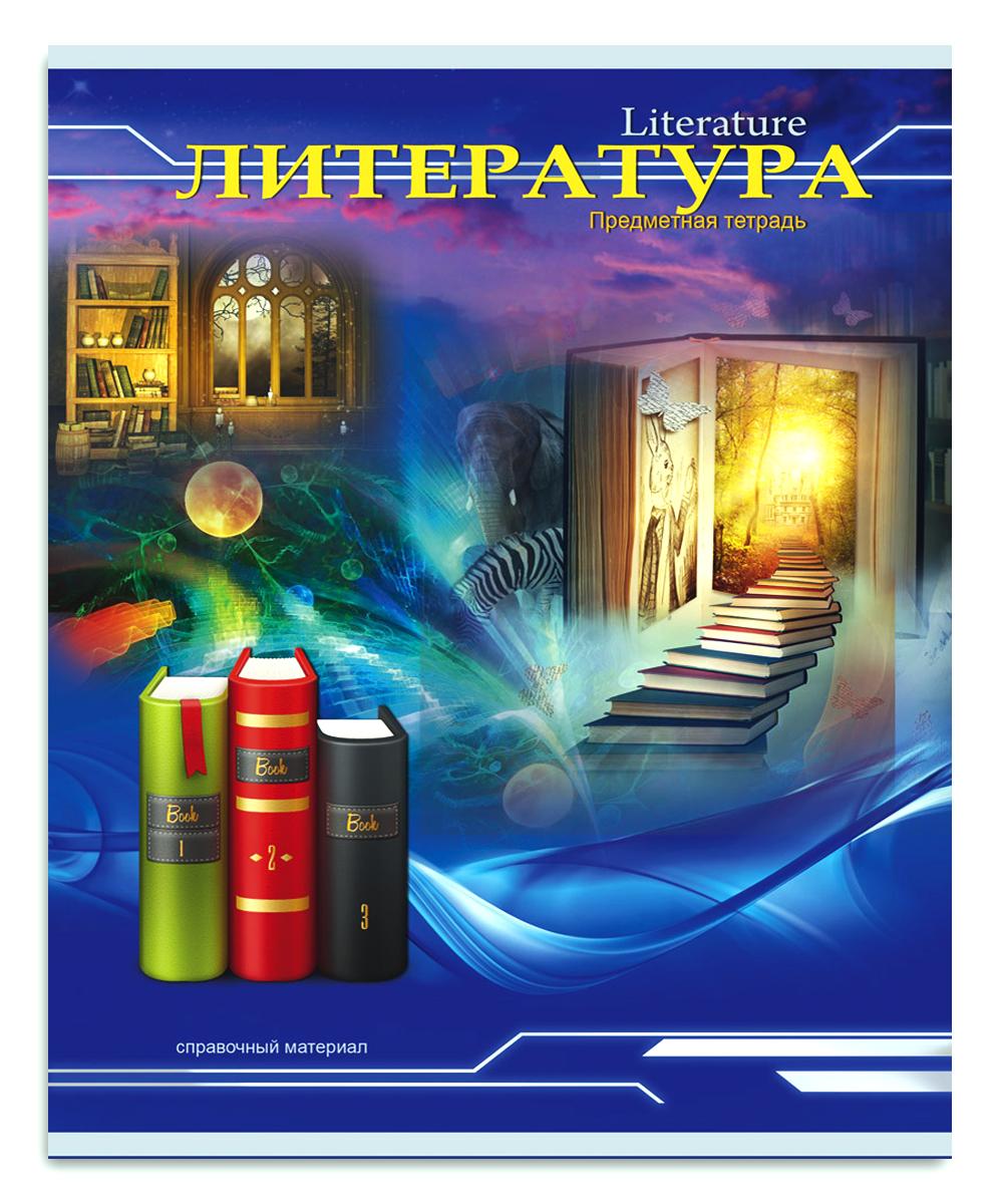 Profit Тетрадь Трехмерное пространство Литература 36 листов в линейку цена