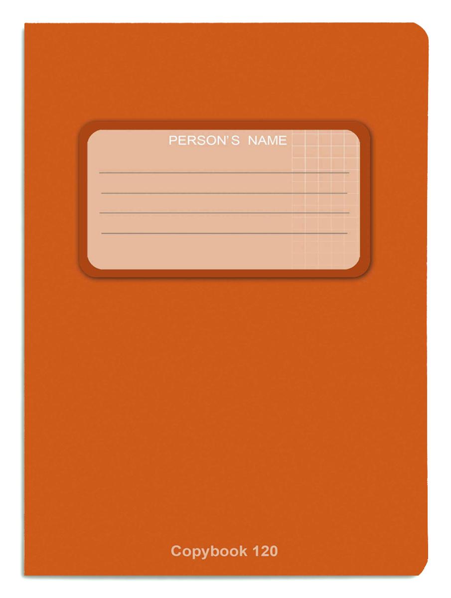 Проф-Пресс Тетрадь 120 листов в клетку оранжевый книги проф пресс постаничная вырубка сказочные принцессы
