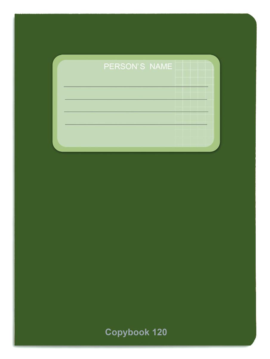 Проф-Пресс Тетрадь 120 листов в клетку цвет зеленый книги проф пресс постаничная вырубка сказочные принцессы