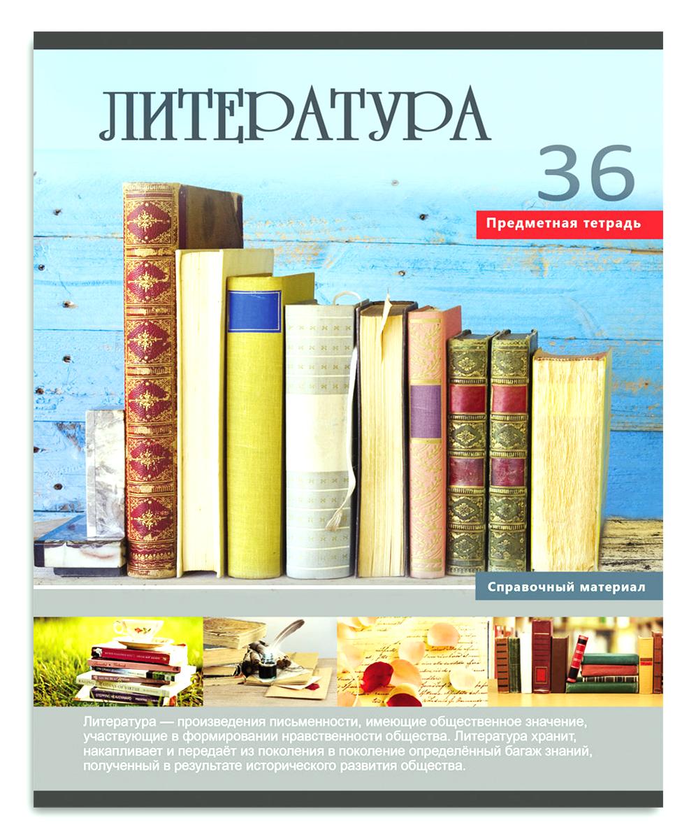 Profit Тетрадь Учись легко Литература 36 листов в линейку цена