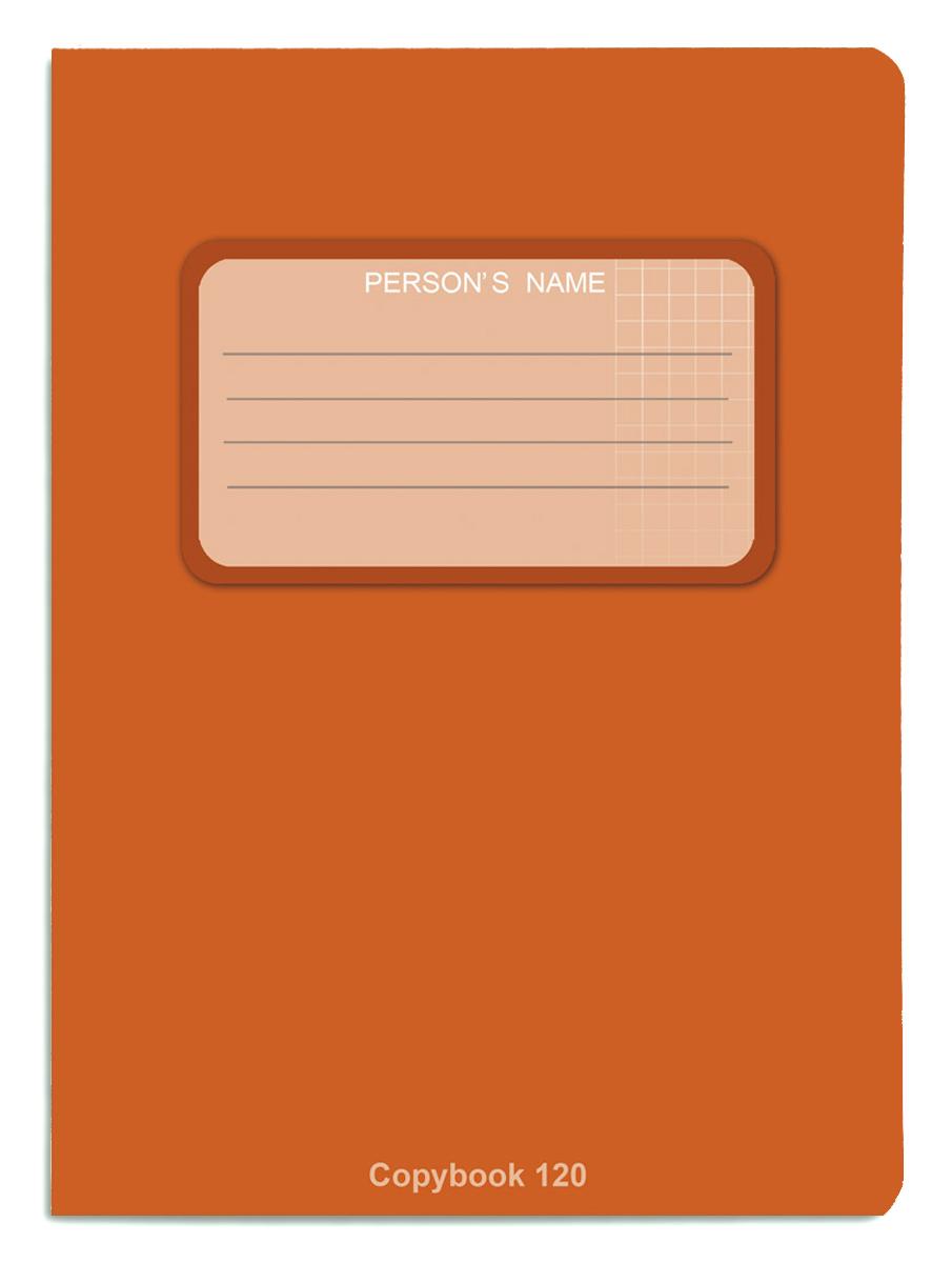 Проф-Пресс Тетрадь 120 листов в клетку цвет оранжевый, Тетради  - купить со скидкой