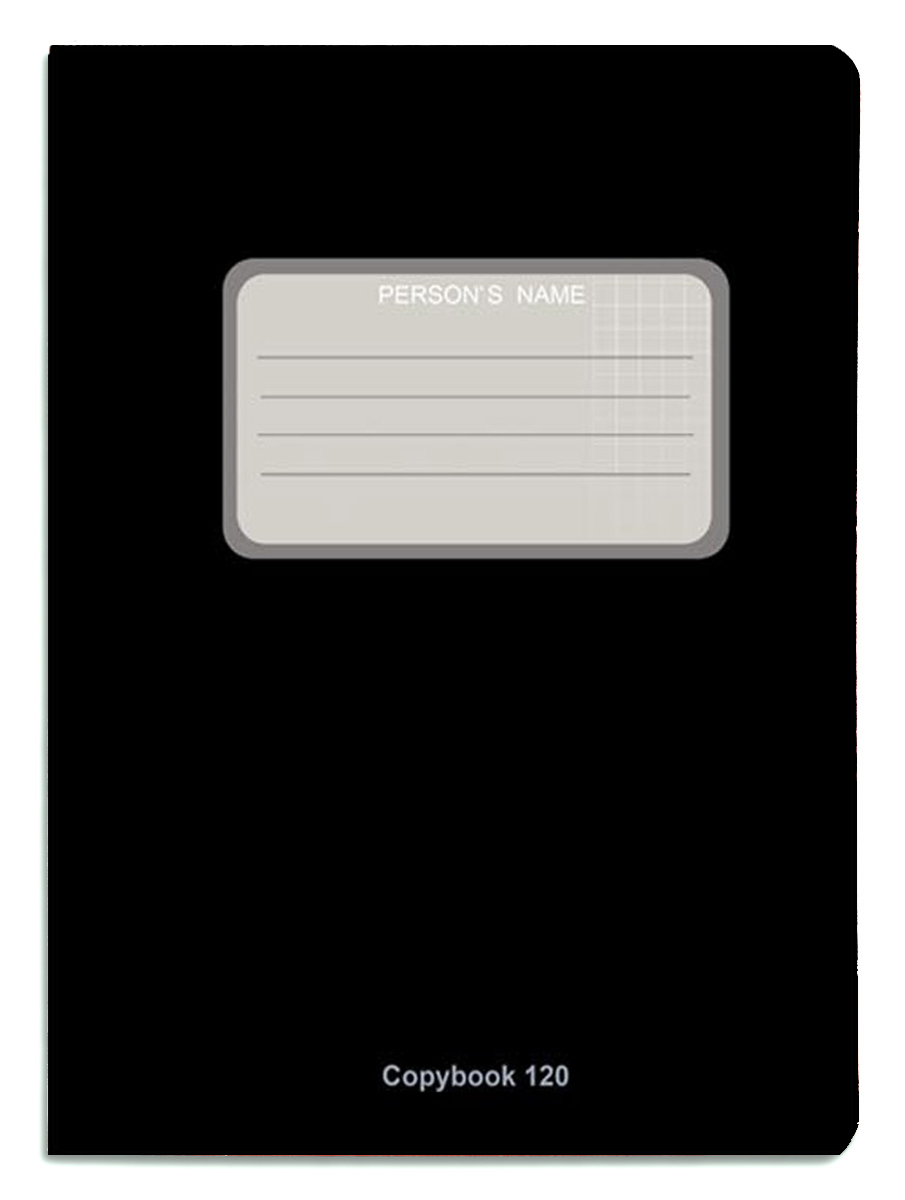 Проф-Пресс Тетрадь 120 листов в клетку цвет черный, Тетради  - купить со скидкой