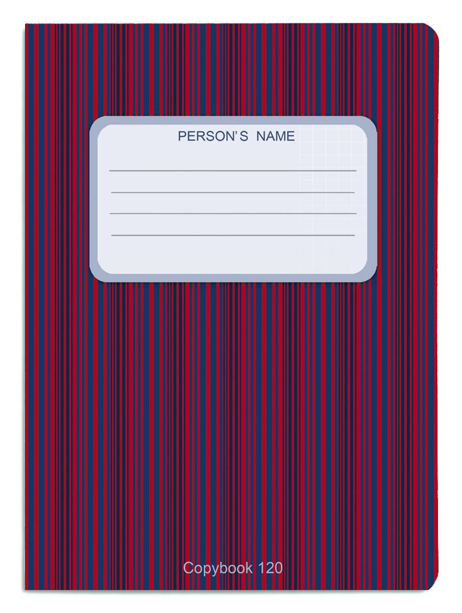 Проф-Пресс Тетрадь 120 листов в клетку цвет красный синий книги проф пресс постаничная вырубка сказочные принцессы