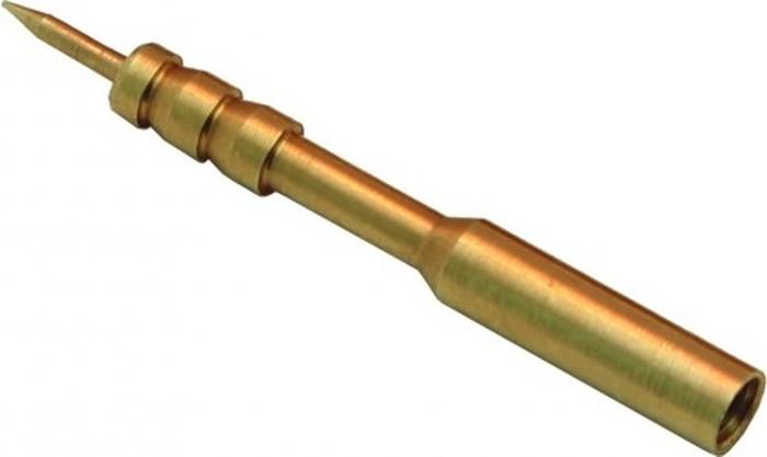 Вишер для патчей ЧИСТОGUN 17J, латунь, резьба мама, дюймовая, 5/40 для StilCrin, Nimar, MegaLine, VFG, диаметр 3,5 мм