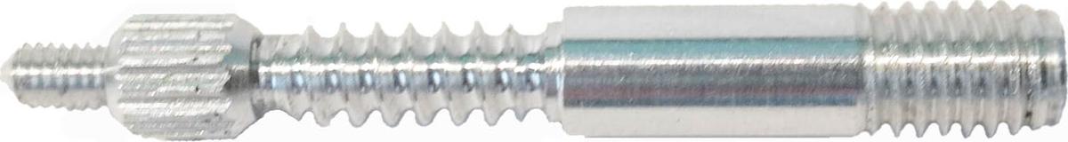 Адаптер-иголка A2S GUN №3, дюраль, резьба мама, дюймовая, 5/40 и папа М5, для StilCrin, MegaLine, Nimar,