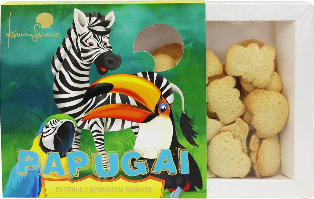KarumuFabrika Papugai печенье, 150 г kotanyi сахар с ароматом ванили 50 г