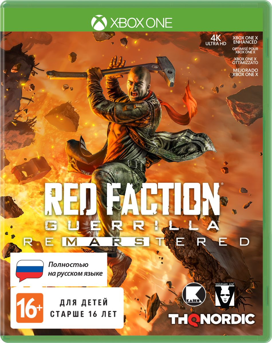 Red Faction Guerrilla Re-Mars-tered (Xbox One) цена