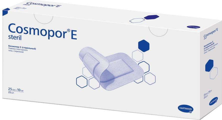 Cosmopor E Steril Самоклеящаяся повязка на рану, 25 х 10 см,  шт