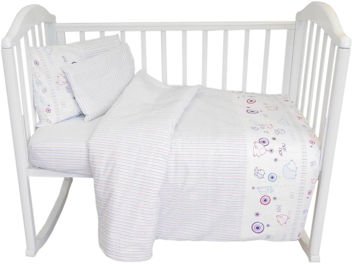 Baby Nice Комплект в кроватку Ежик
