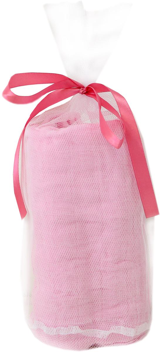 Baby Nice Пеленка муслиновая цвет розовый 115 х 115 мм