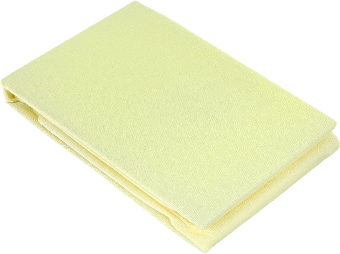 Baby Nice Наматрасник 60 х 120 см цвет желтый + слюнявчик