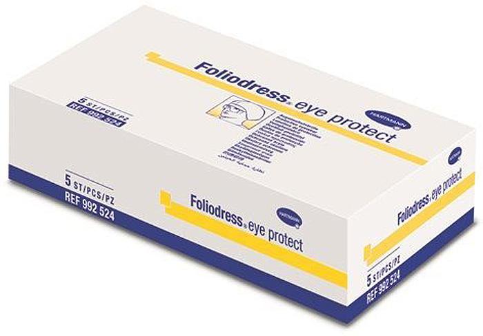 Foliodress Eye Protect Очки защитные, незапотевающие, 5 шт очки защитные вентилируемые незапотевающие