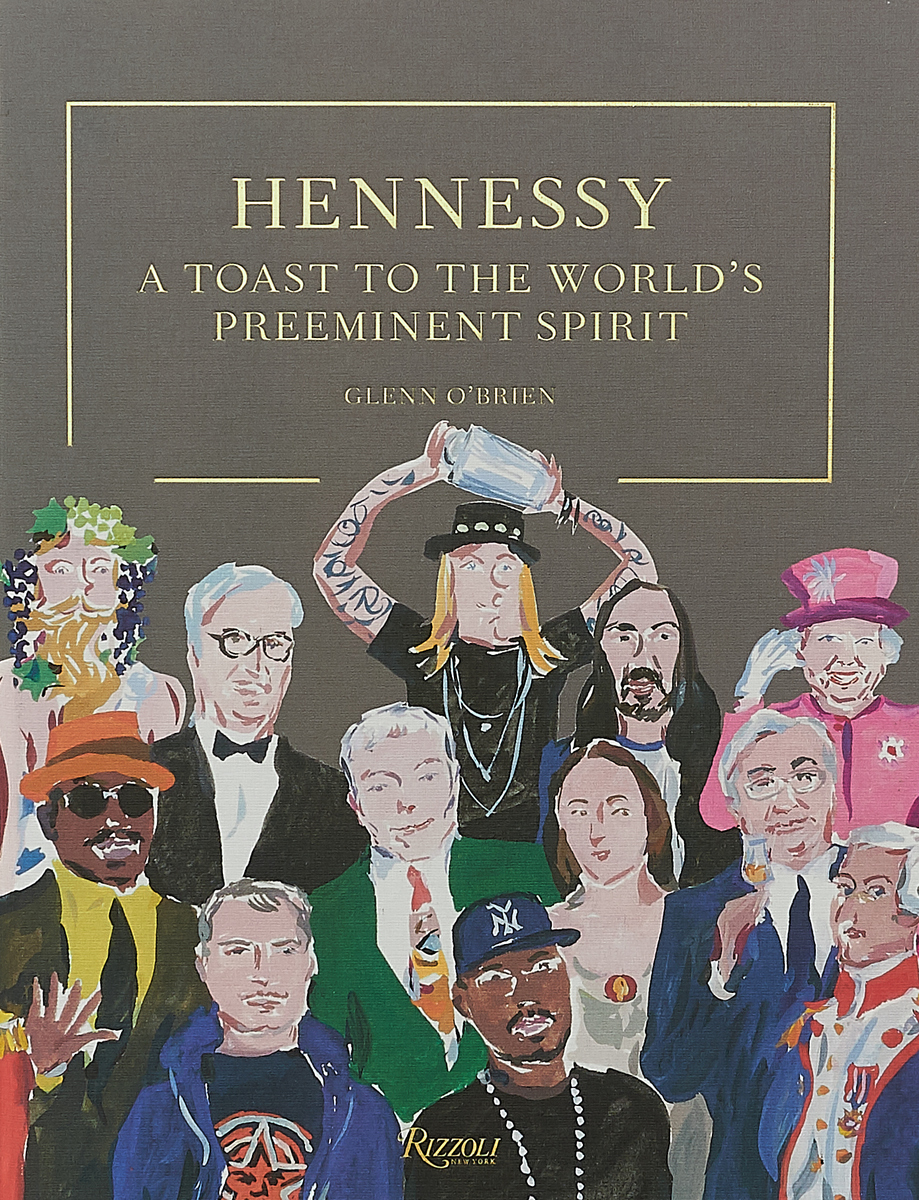 Hennessy: A Toast to the World's Preeminent Spirit by Glenn O'Brien cutting sliced toast mold white coffee