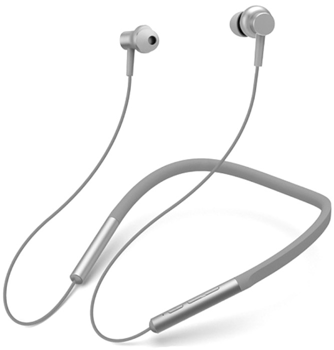 Zakazat.ru Xiaomi Mi Collar Earphones Bluetooth, Grey беспроводные наушники