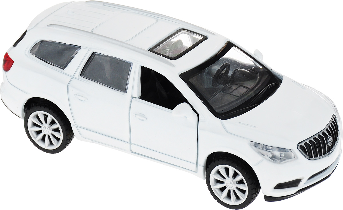 ТехноПарк Машинка инерционная Buick Enclave цвет белый сцепление buick