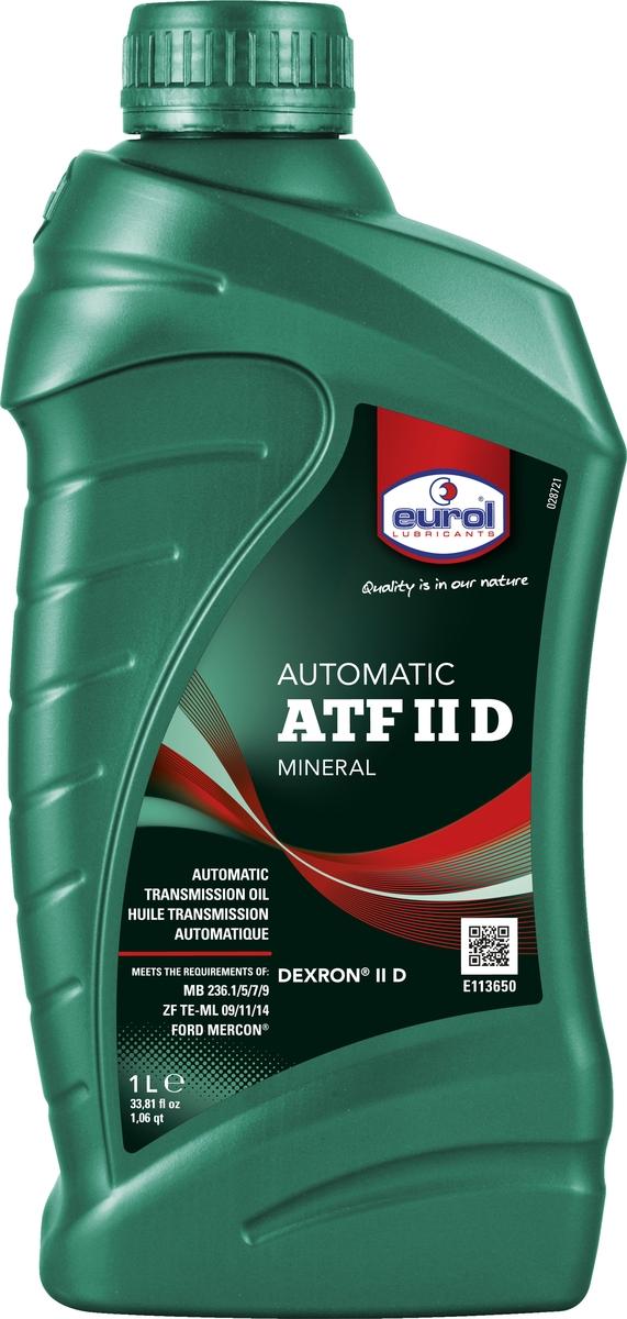 Жидкость трансмиссионная Eurol ATF II D, 1 л