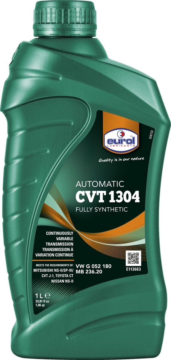 Жидкость для бесступенчатых КП (вариаторов) Eurol CVT 1304, синтетическая, 1 л