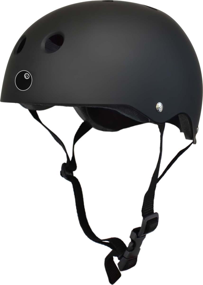 Шлем Eight Ball, цвет: черный, размер L (8+)